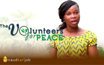 Tatiana Houndji, Volunteers for peace