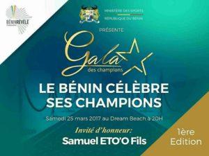 Visuel du Gala Des Champions